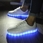 Summer-bicycle-shoes-usb-charge-led-light-emitting-lighting-shoes-neon-shoes-trend-breathable-genuine-leather