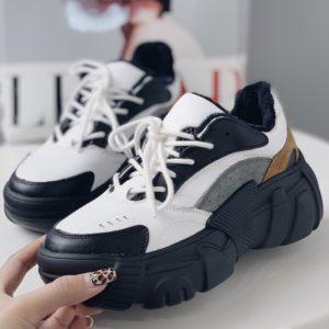 кроссовки на большой платформе